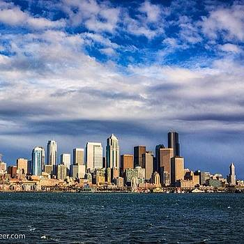 #seattle #ferry #winter by Ron Greer