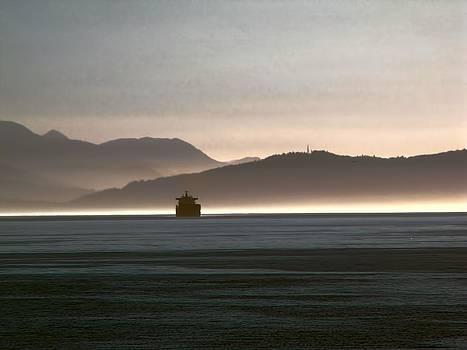 Seattle Fog by Jennifer Wheatley Wolf