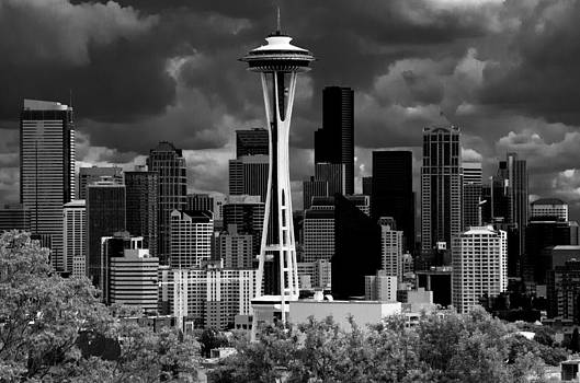Seattle Space Needle by Craig Perry-Ollila