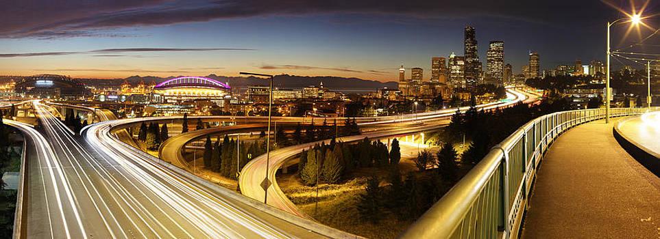 Seattle Twilight by Scott Logel