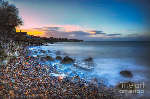 English Landscapes - Seaview Sunset
