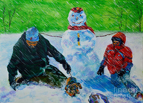 Second Snow by Charles M Williams
