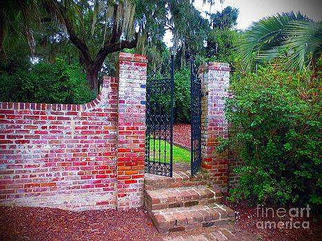 Secret Garden Gate by Lisa Jones