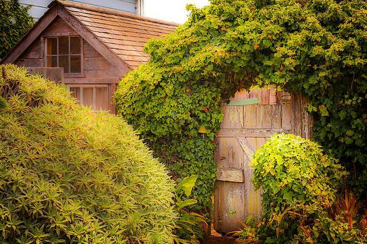 Secret Garden Gate by Michael Fahey