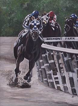 Secretariat by Kim Selig