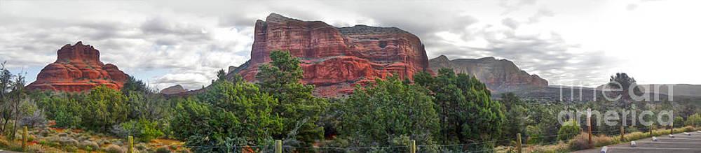 Gregory Dyer - Sedona Arizona Bell Rock Panorama