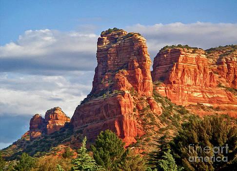 Gregory Dyer - Sedona Arizona Mountain Peak
