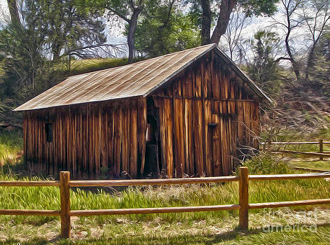 Gregory Dyer - Sedona Arizona Old Barn