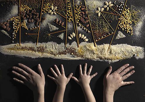 Seeds of the future by Dariya Tishchenko-Zhuravel