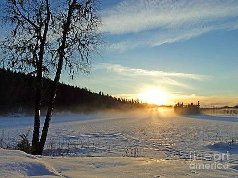 Stanza Widen - Seeley Lake Sunset