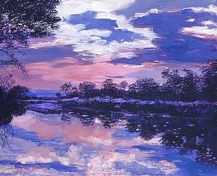 David Lloyd Glover - SEINE RIVER DAWN