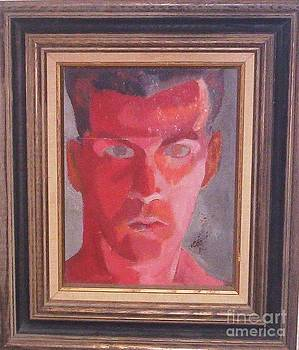 Self Portrait as Red Lantern  by Vern Henry Smith