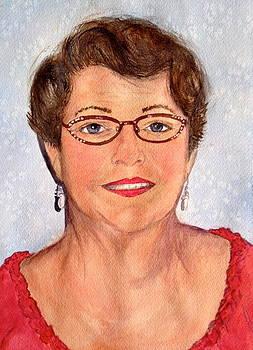 Self Portrait by Carol Warner