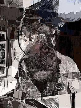 Self Portrait Collage by Gabriel Jeane