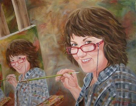 Self Portrait by Cynthia Snider
