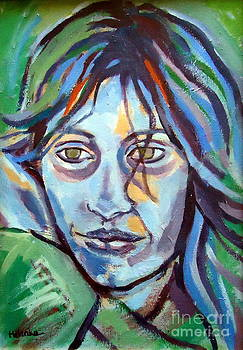 Self Portrait by Helena Wierzbicki