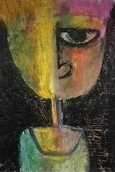 Self portrait by Kamal Hashim Osman