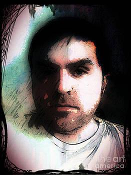 Self Portrait Metal by Jose Benavides