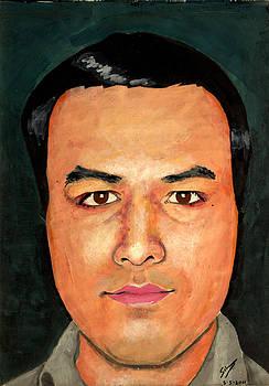 Self Portrait by Salman Ravish