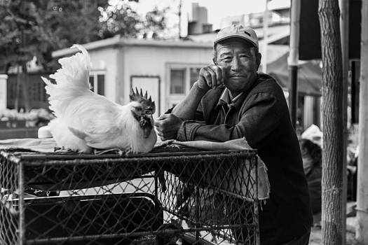 Selling Chickens by Stephanus Le Roux