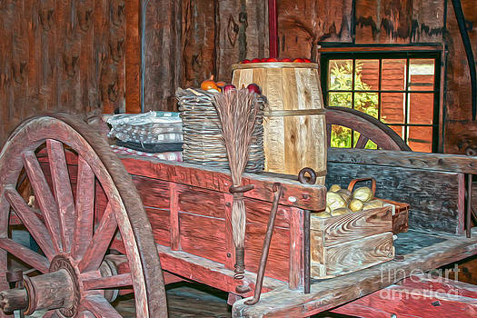 Patricia Hofmeester - Selling veggies and fruit the old way