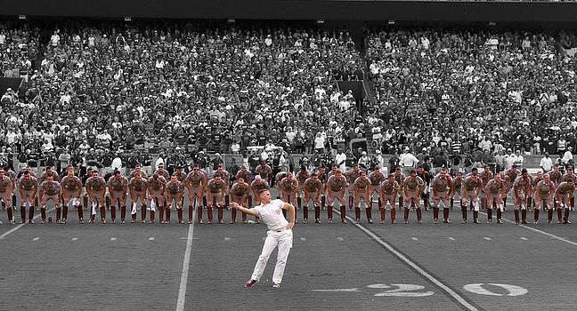 College Campus-Football-Senior Boot Line by Matthew Miller