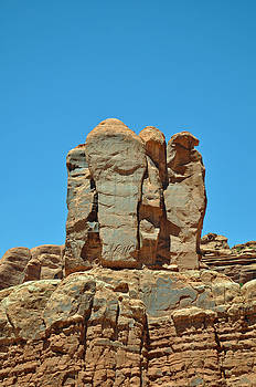 Sentinels in Arches National Park by Bruce Gourley
