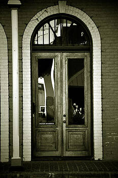 Sepia Door by Cherie Haines