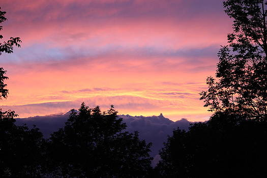 September's Evening Sky by Patricia Hiltz