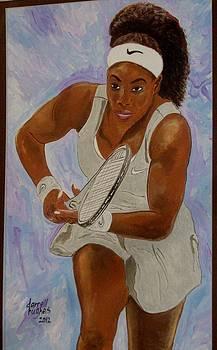 Serena Williams by Darrell Hughes