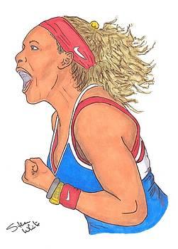 Serena Williams by Steven White