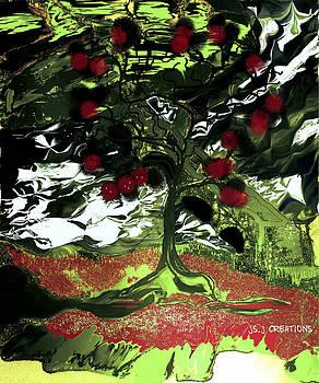 Serene in Green by Jan Steadman-Jackson