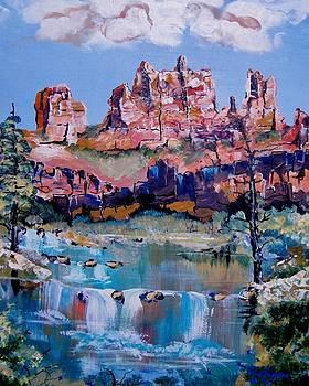 Serene Sedona by Wayne  Ligon