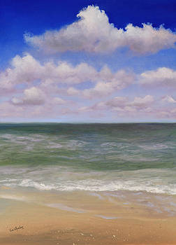 Serenity at Sea by Eve  Wheeler