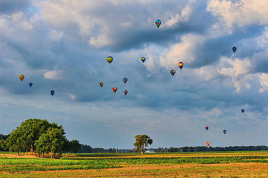 Serenity In Flight by Tom Schmidt