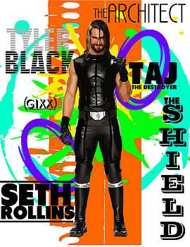 Seth Rollins by Anibal Diaz