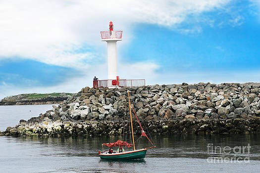 Setting Out Howth Ireland by Jo Collins