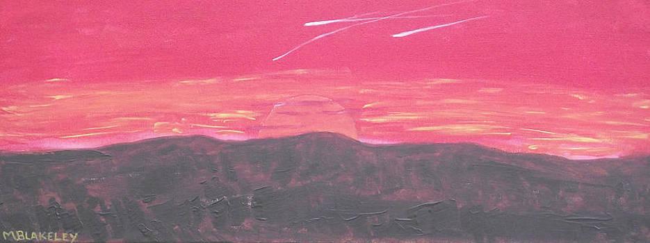 Setting Sun by Martin Blakeley