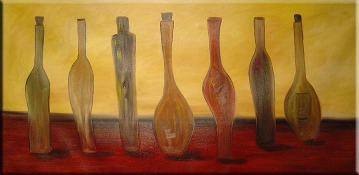 Seven Bottles by Gino Savarino