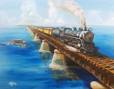 Seven Mile Bridge by Christopher Jenkins
