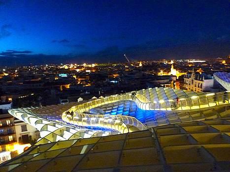 Sevilla by night by Alberto Pala