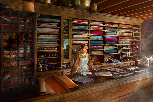 Mike Savad - Sewing - Minding the mending store