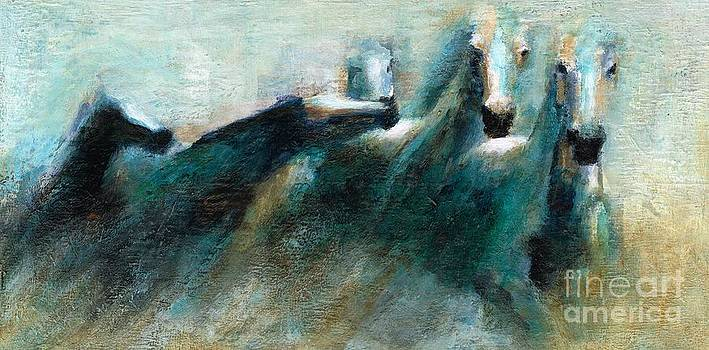 Shades of Blue by Frances Marino