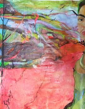 Shades of Frida Kahlo by Joyce Garvey
