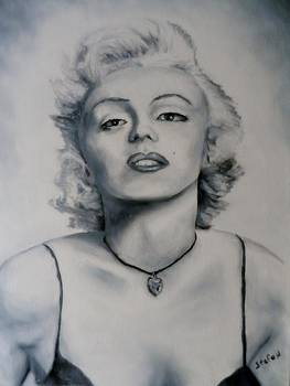 Shades of Gray Marilyn Monroe by Stefon Marc Brown