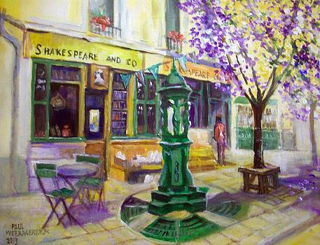 Shakespeare And Co Bookshop by Paul Weerasekera