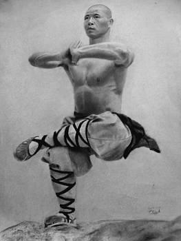 Shaolin Monk by Vishvesh Tadsare