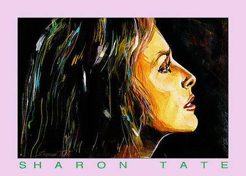 Sharon Tate by Mireille  Poulin
