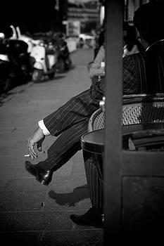 Sharp dressed man by Peter Falkner