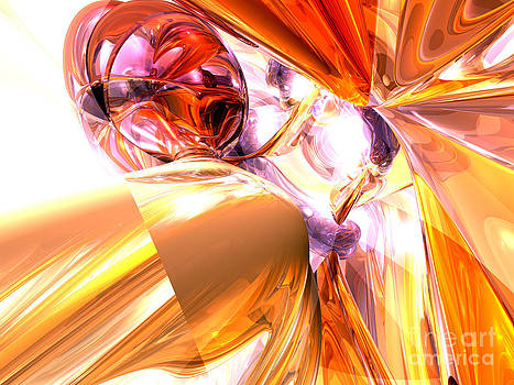 Alexander Butler - Shattered Perspective Abstract